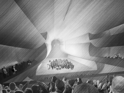 Ciaran Scannell proposes,fantastical world in London's HS2 railway tunnels
