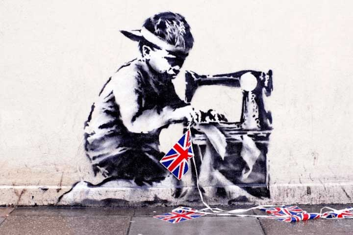 Ron English Plans to Whitewash a $730,000 Banksy, and then Sell It