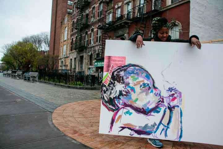 Activism Takes Center Stage in Sophia Dawson's Art