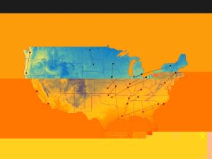 Watch how the climate could change in these US cities by 2050