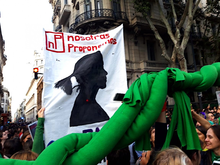 Artists in Argentina Join a Mass Protest for Women's Equality