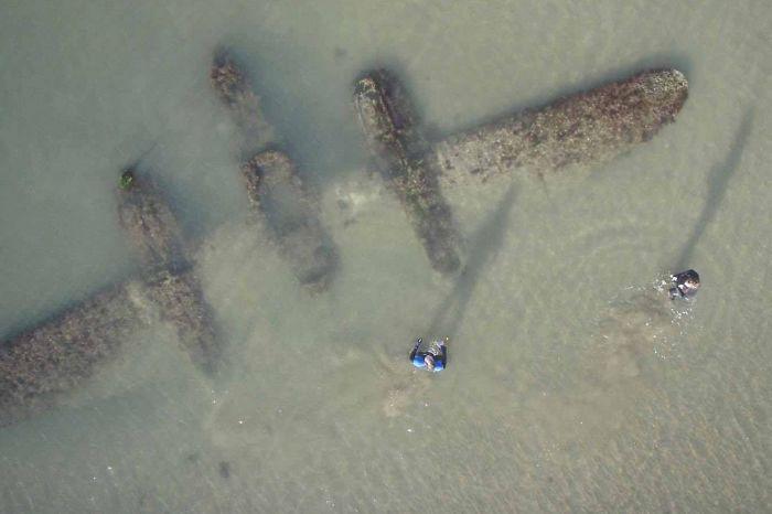 P-38 Found On Welsh Beach