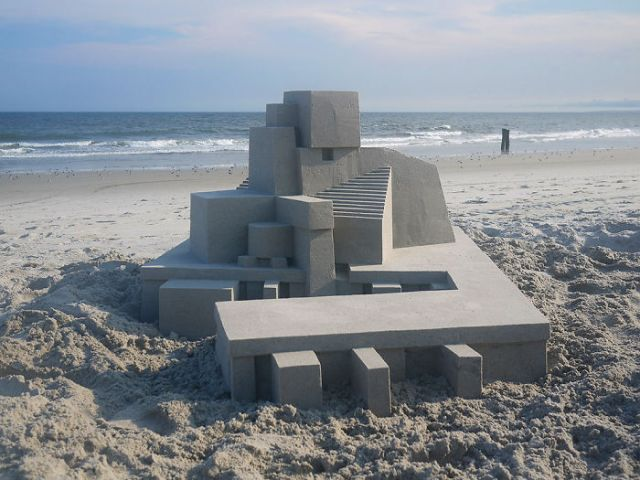 Sandcastle With Extremely Clean Lines