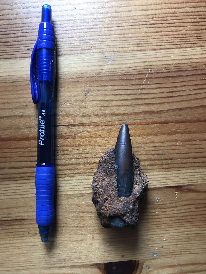 Mom Found This Bullet On The Beach About A Year Ago, How Old Is It And From What Type Of Gun?