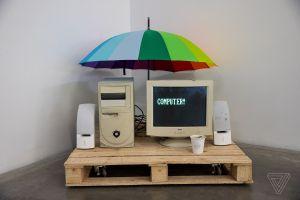 A web art exhibit forces visitors to confront the past