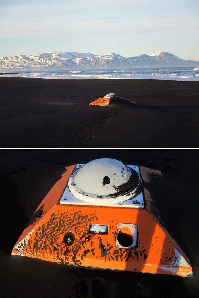 Found On A Beach In Iceland