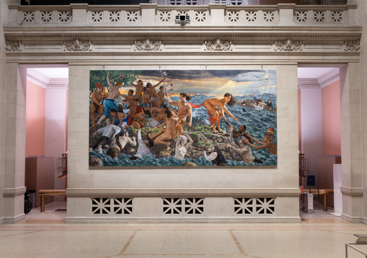 Kent Monkman Introduces Candid Indigenous Narratives to the Metropolitan Museum's Great Hall