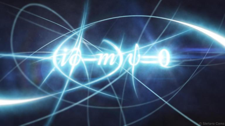 The most beautiful equation is … The Dirac equation