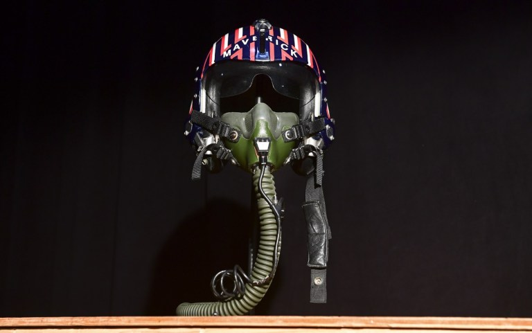 'Top Gun' helmet and 'Alien' spaceship in Hollywood props auction
