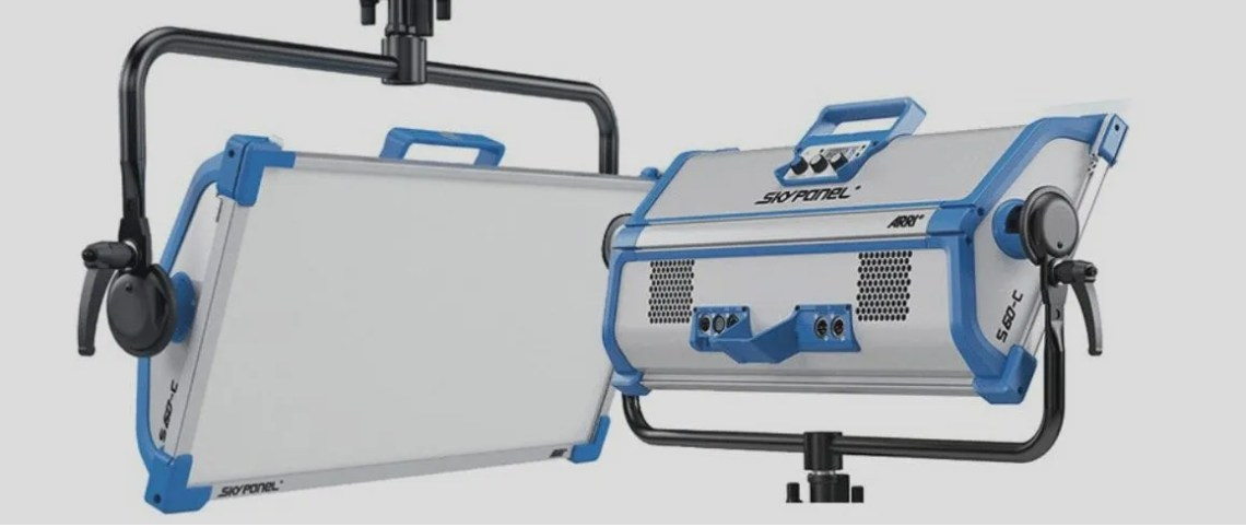 Arri Skypanels lighting grip