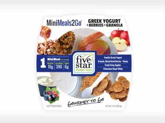 MM2G™ Greek Yogurt<br>+ Berries + Granola