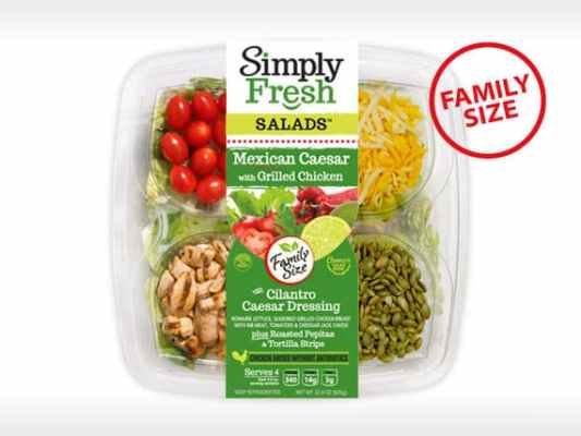 Family Size<br>Mexican Caesar Salad