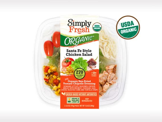 ORGANIC Santa Fe<br>Salad with Chicken