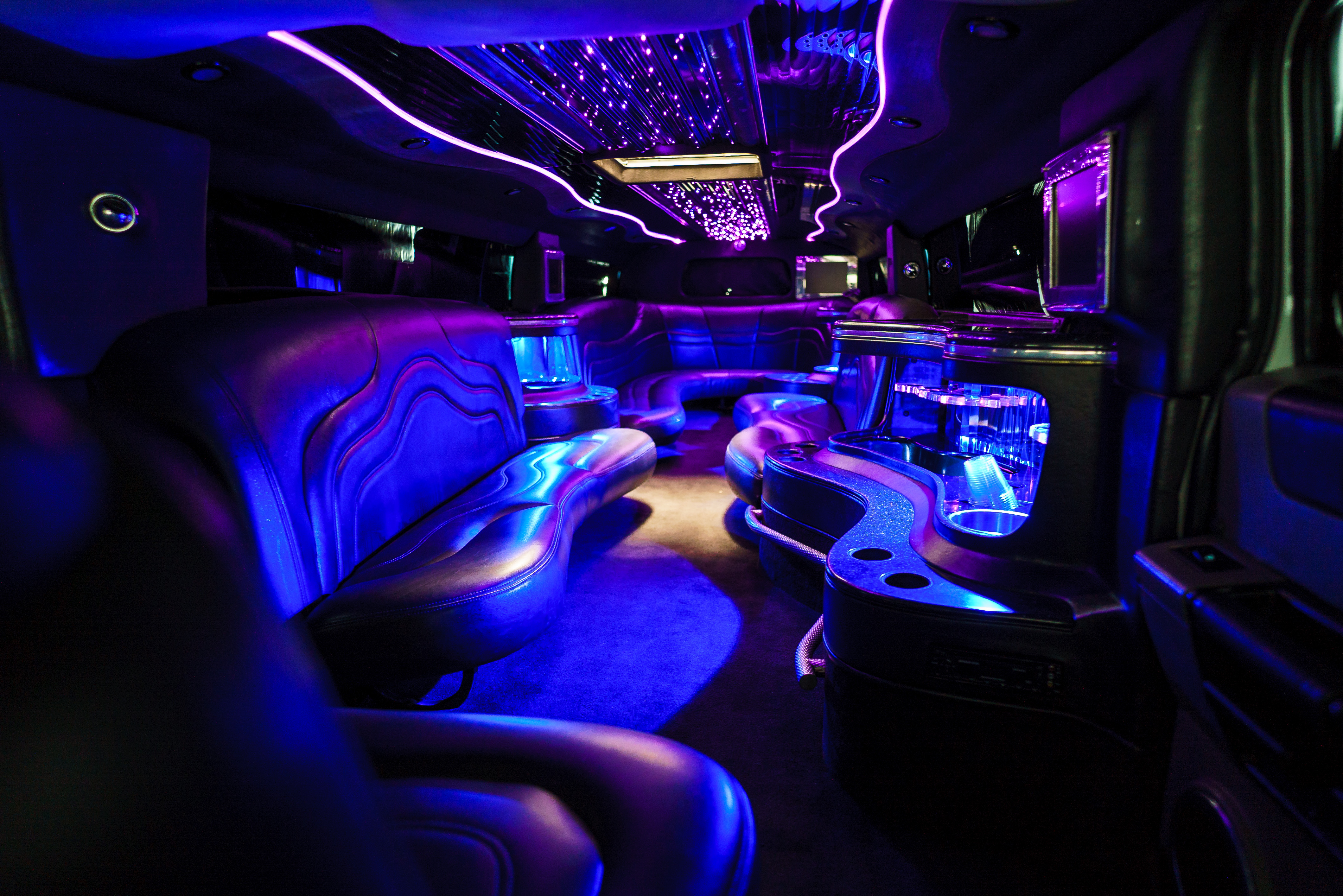 White Stretch Hummer Limo Las Vegas