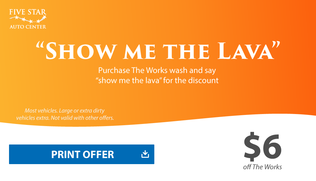 Show me the Lava Coupon