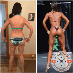 FSP client Nichelle's 6 month transformation
