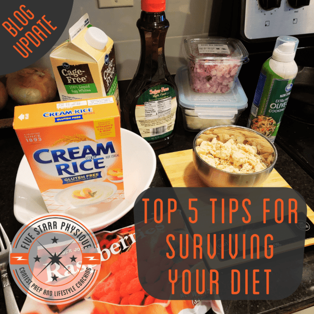 Top 5 Tips for Surviving Your Diet