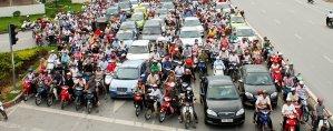 Hanoi-Vietnam-traffic