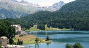 Summertime-St Moritz-Switzerland-Europe