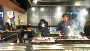 Nagasaki-Yakitori-hot-sake-cold-beer-restaurants-Japan-yakitori