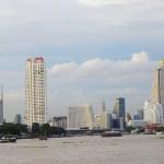 Boats-Buildings-Chao Phraya-River-Bangkok