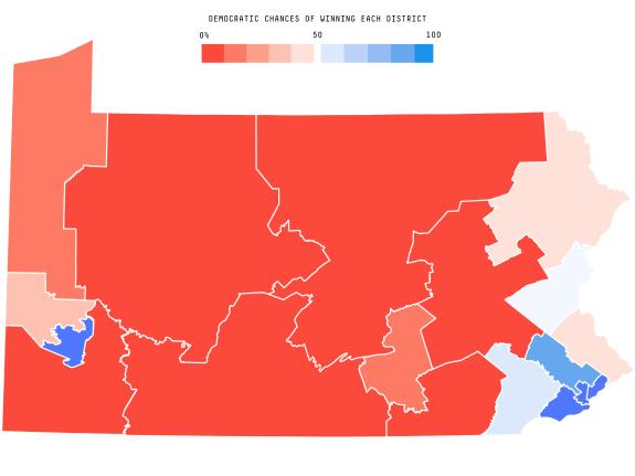 Pennsylvania S New Map Helps Democrats