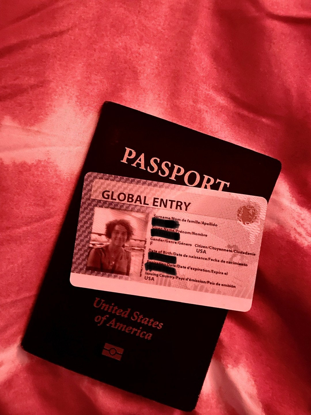 Global Entry and Passport