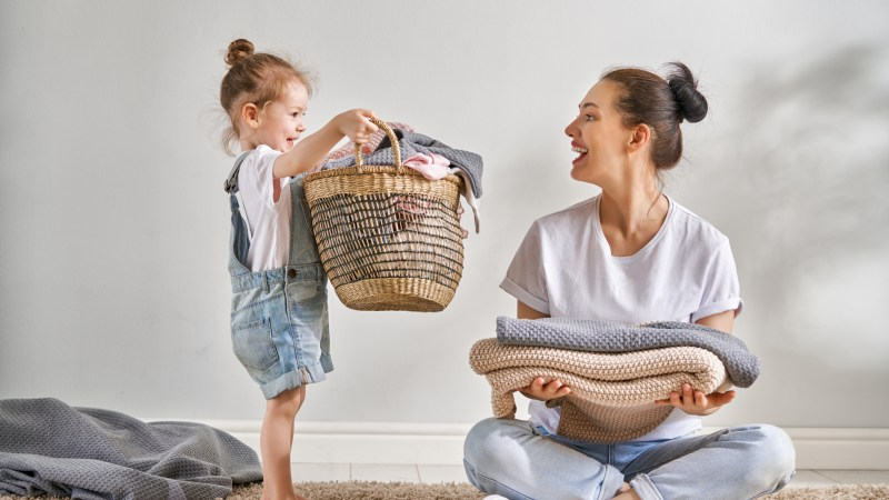 10 Cleaning Tips For Moms With Little Ones