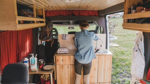 How to Make the Most of Your Van's Kitchen