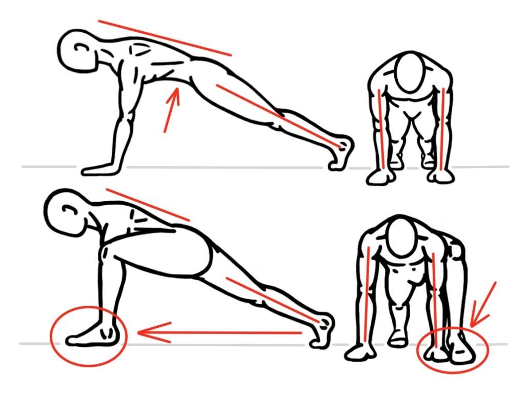 Baseball Workouts Spiderman lunge