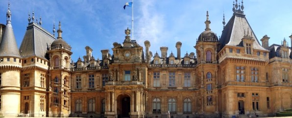 Waddesdon Manor front entrance