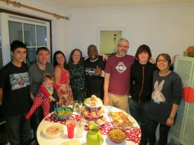Great food, Great friends, Great family