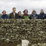 Drystone walling Courses at Five Wells