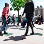 Walking, energy and light