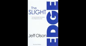 The slight edge, jeff olson, personal development