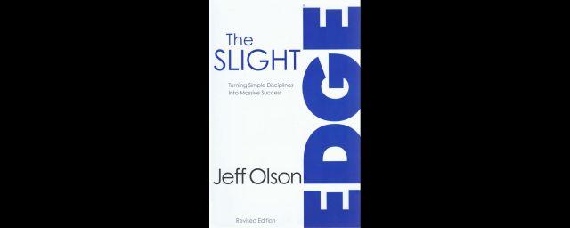 The slight edge, jeff olson, personal development