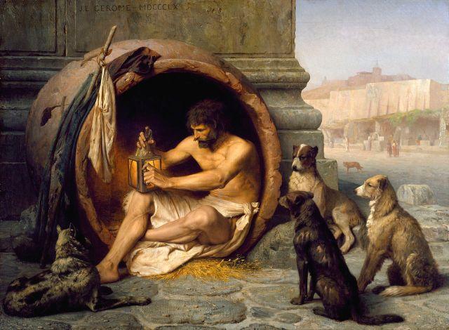 cynicism, stoics, property