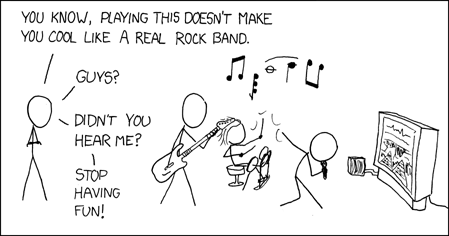 Managers, rock band, the emyth