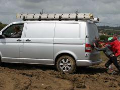 success paralysis, van, stuck in the mud