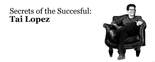 tai lopez, success, million dollar blueprint