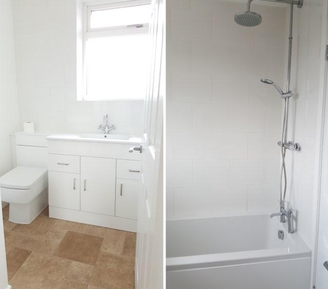 Bathroom both pics