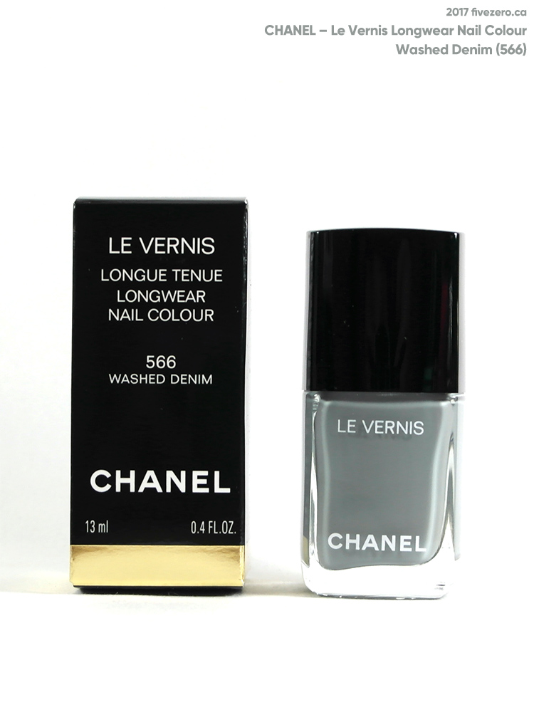 Chanel Le Vernis Longwear Nail Colour in Washed Denim (566)