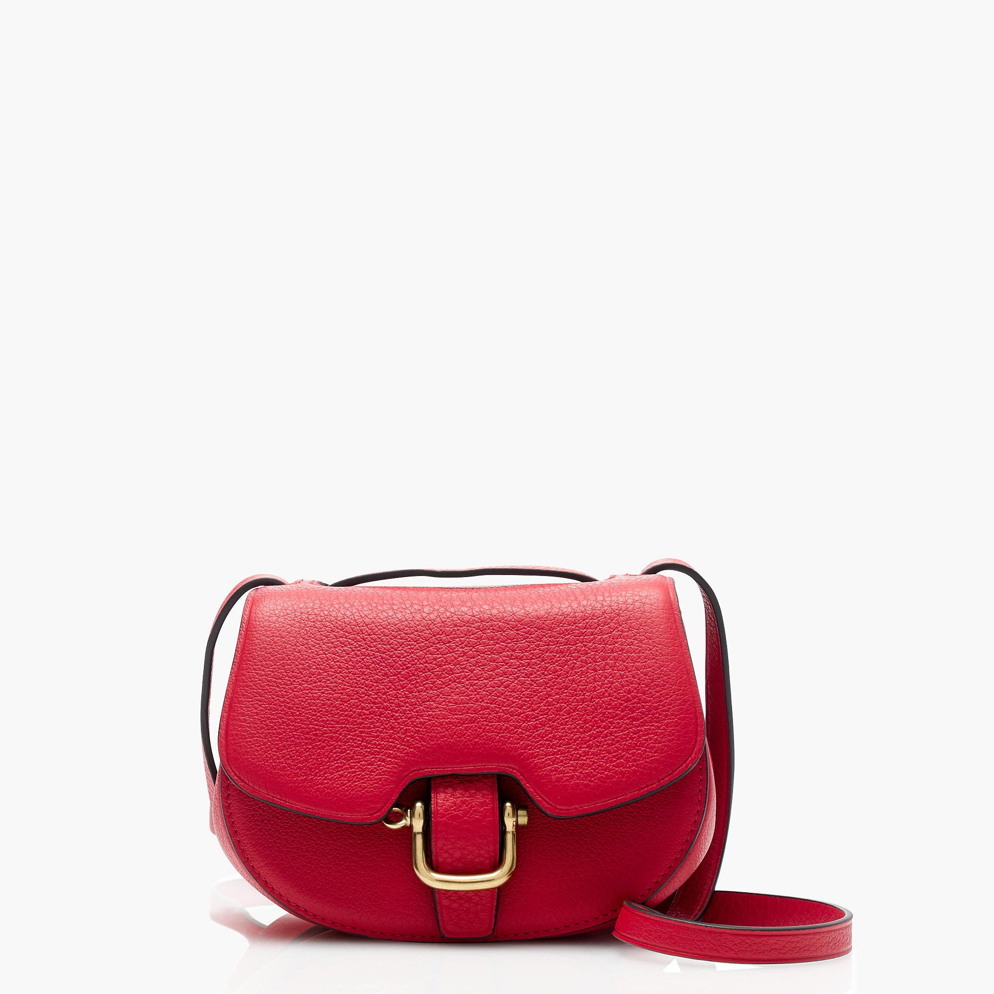 J.Crew Mini Rider Bag in Italian Leather, Festival Red