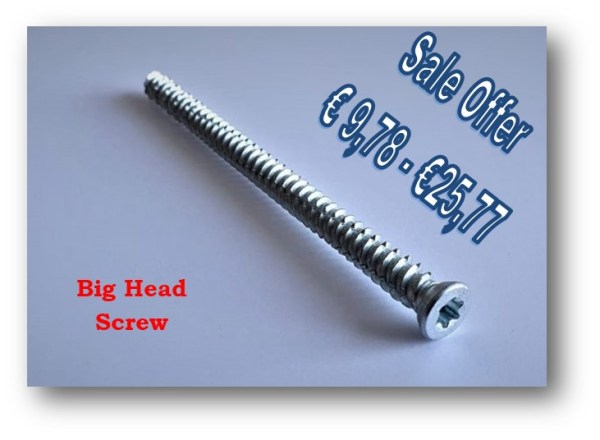 windows screw big head