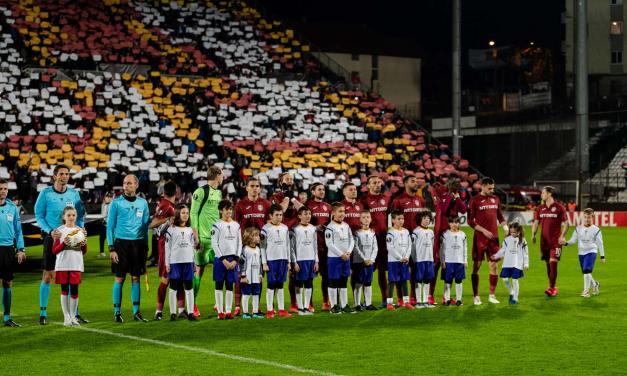 CFR Cluj singura echipa neînvinsă în fața celor de la FC Sevilla