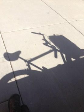 Devil shadow.