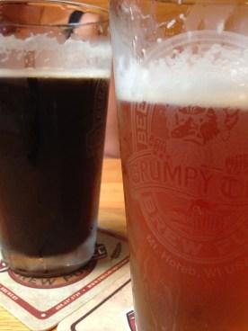 Beer at the Grumpy Troll.