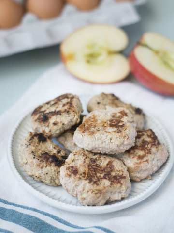 Fixed on Fresh - Apple Turkey Breakfast Sausage Patties