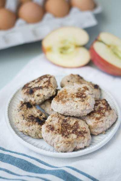 Fixed on Fresh - Apple Turkey Breakfast Sausage Patties