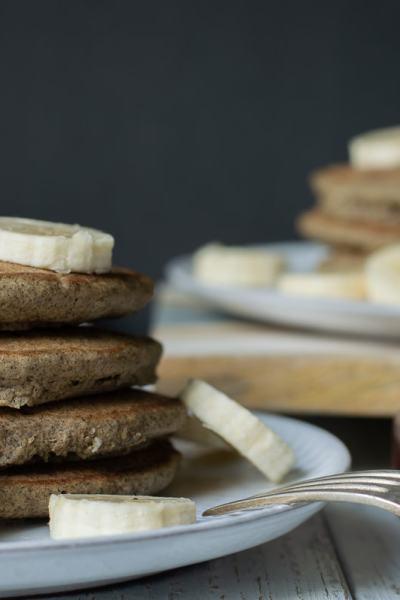 Fixed on Fresh - Banana Buckwheat Pancakes {Gluten Free, Whole30, Paleo, Dairy Free}